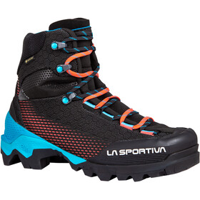La Sportiva Aequilibrium ST GTX Shoes Women, zwart/turquoise